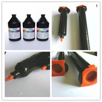 Liquid Optical Clear Adhesive with plunger for touch creen