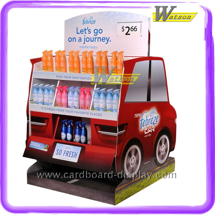 New Cardboard Pallet Display for Car Freshener promotion