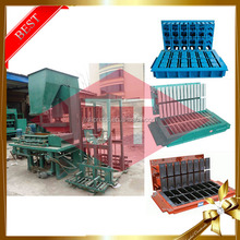Indonesia cement clay lime brick making low price used hollow concrete cover block making machine for sale