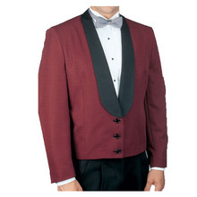Men Shawl Collar Jacket Bellboy Uniform for Hotel Uniforms Front Desk Staff Hotel Doorman Uniform Design Jacket WS638