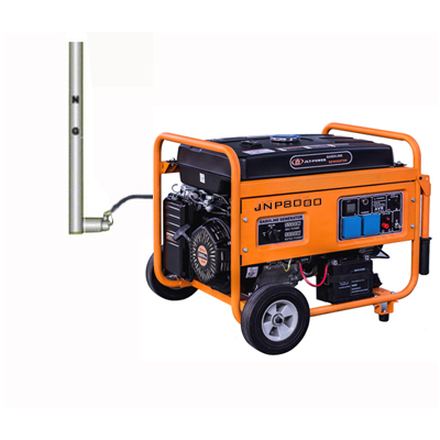 LPG/NG Gasoline methane gas generator 6kva prices for sale