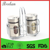 Wholesale High Quality stainless steel salt and pepper shakers set