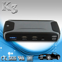 portable mini jump starter smart small 12 volt battery for car, motorboat, motorcycle, smartphone, tablet, led light, sos