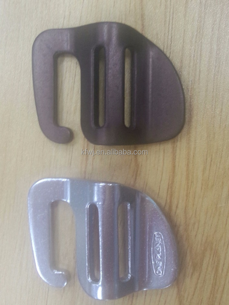 Aluminum metal bag <strong>buckle</strong>,25 mm wide strap