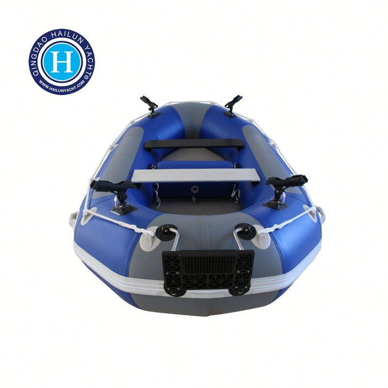 Family Round Pvc Inflatable Fishing Boat Raft Boat