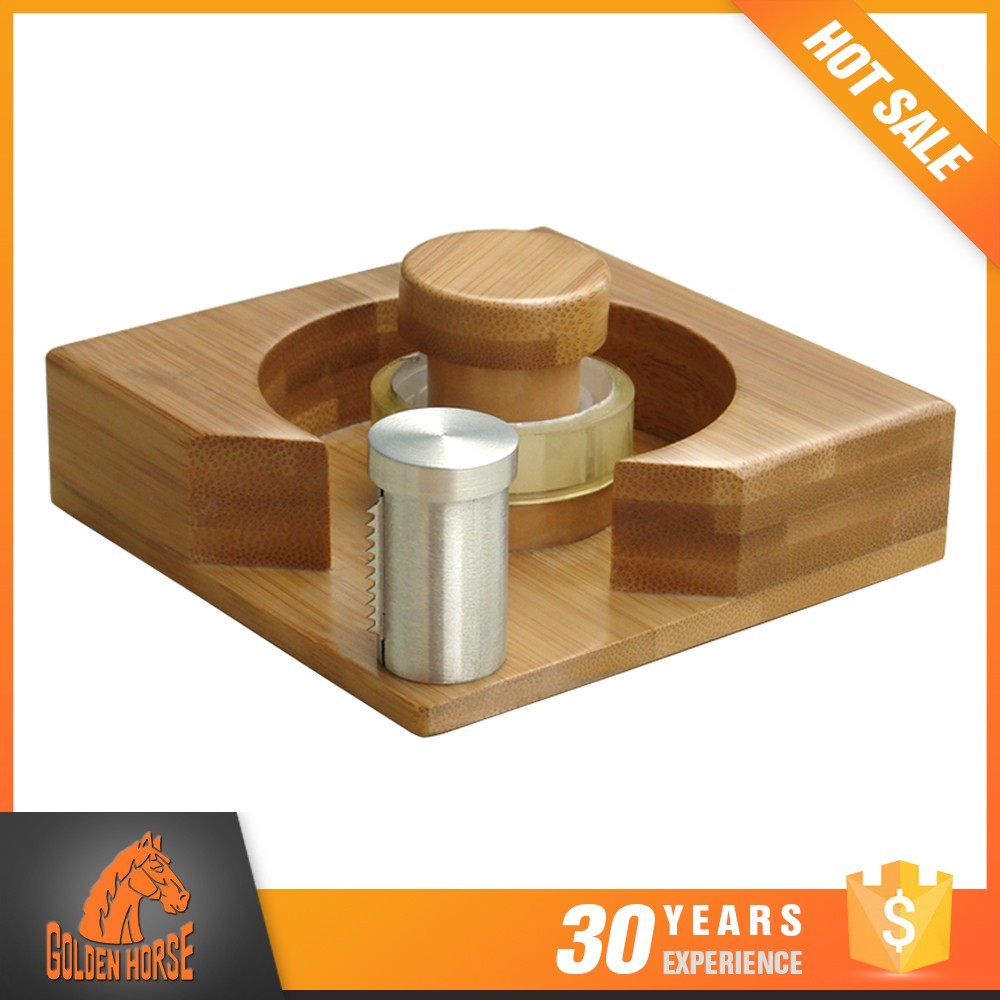 Alibaba Wholesale Product Office Bamboo / Aluminium Unique Tape Holder