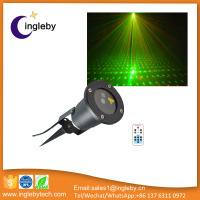 IP65 waterproof outdoor laser light christmas decoration led meteor shower laser light for tree garden