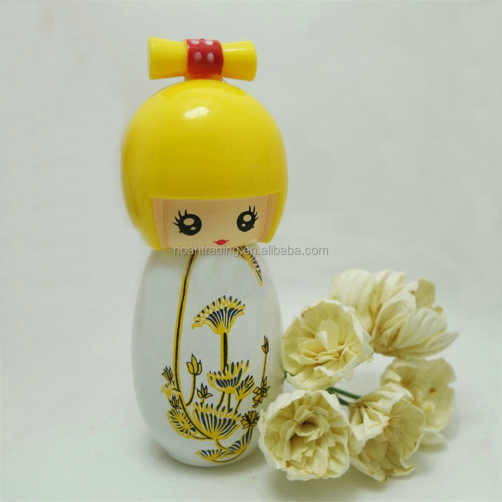cute Chinese style doll perfume bottle, pocket perfume bottle, miniature perfume bottle