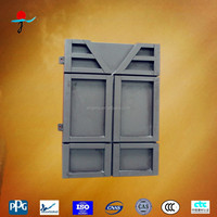 Building material interior wall panel
