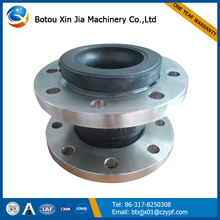 single sphere rubber joint flanged