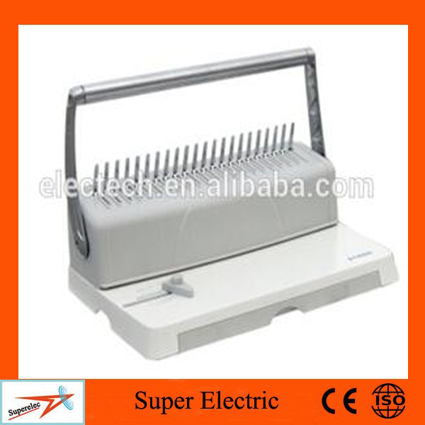 Plastic Coil and Binder Strip Maual Hardcover Book perfect binding machine