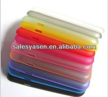 0.3mm Ultra thin matte frosted pc case for Samsung Galaxy S3