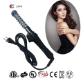 2016 new design hair curler as seen on TV spiral hair curlers hair crimp roller ceramic metal perm rods crimping iron