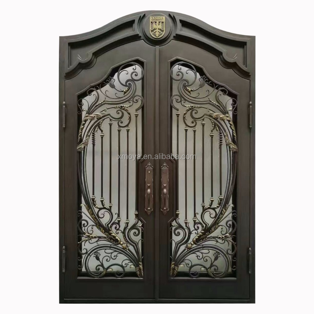 Antique And Luxury New Wrought Iron Grill Gate <strong>Door</strong> Designs