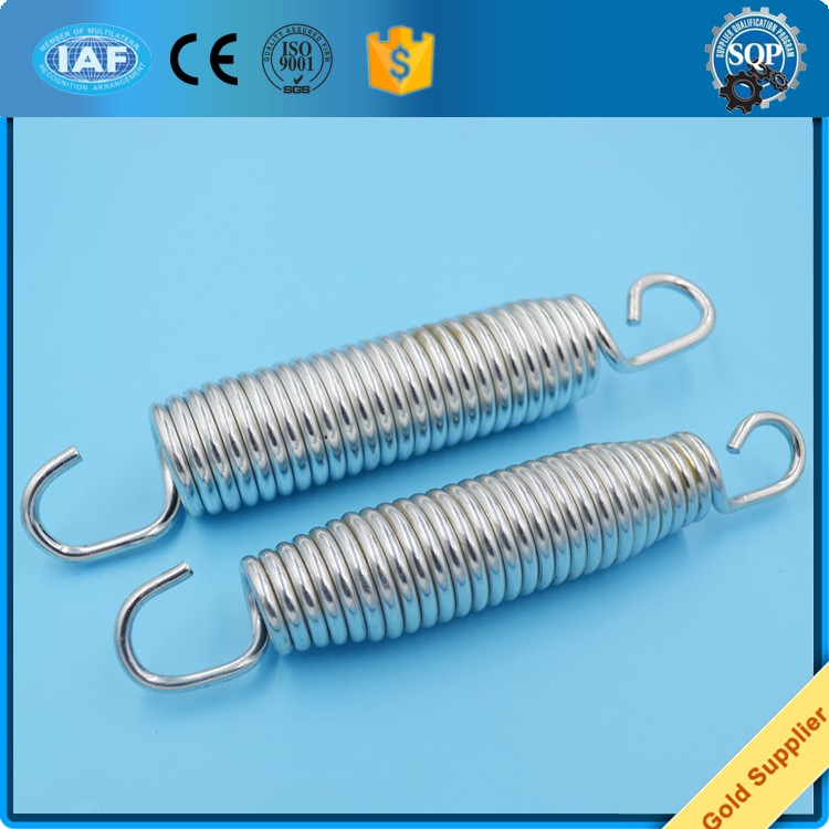 zinc plated 7 inch trampoline recliner extension spring