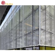 aluminum expanded metal mesh for curtain wall exterior