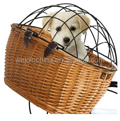 2016 Wicker Basket For Dogs Dog Bike Basket