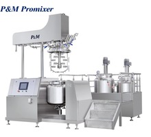 Chinese wholesale vacuum emulsifying homogenizer cosmetic mixer machine