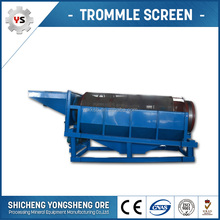 Silica Sand Rotary Screen Separator Compost Screen Trommels For Sale