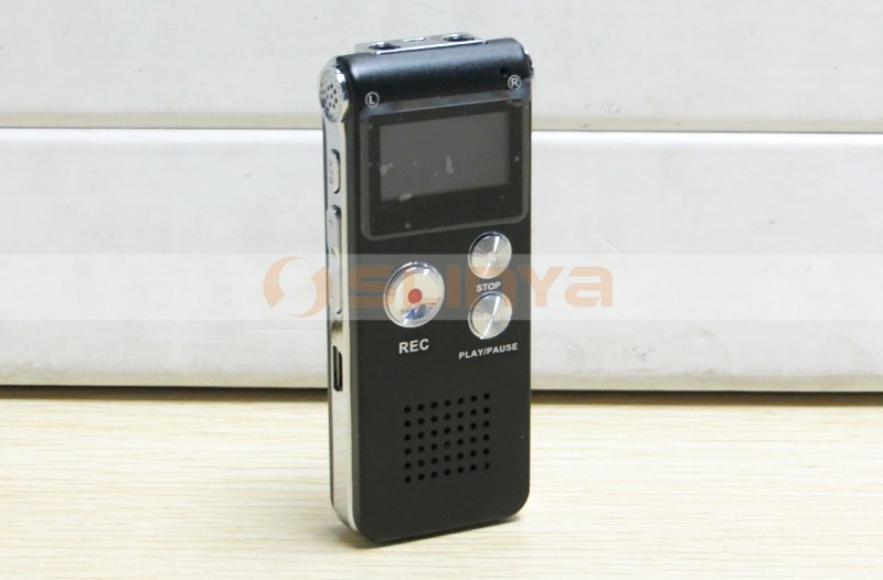 4GB 8GB Rechargeable USB Audio Recorder Digital Mini Voice Recorder