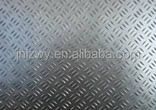 top quality and low price china HaoMei supplier aluminum checkered plate 5 bar for floor