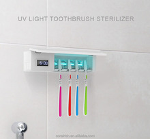 2018 Hot Sale UV Toothbrush Sterilizer With Music Sanitizer Holder