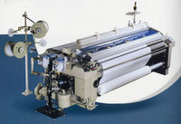 Qingdao baijia JWB-408-3 2-pump 3-nozzle heavy water jet loom in sulzer 260cm textile machine/weaving loom