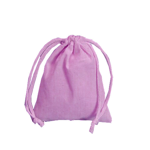 cotton dustbag with draw string