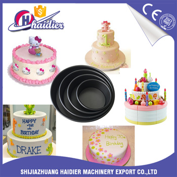 Birthday Cake Making Machine Round Shape Design Cake Birthday Mold
