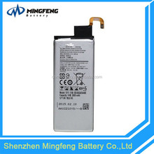 2600mah high capacity li-polymer mobile replacement battery for samsung galaxy s6 edge battery