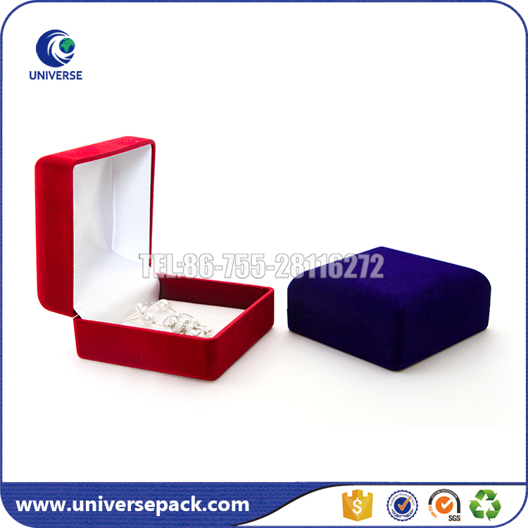 Floacked style velvet coin box for export