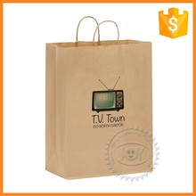 Cheap factory prices custom paper straw bag