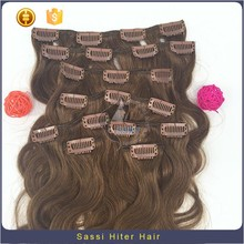 Grade 7a Virgin Hair Pink Clip In Hair Extensions Wholesale