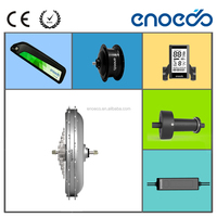 Factory sales directly, electric bike motor friction drive e bike motor kit DC Brushless Geared & Gearless Motor