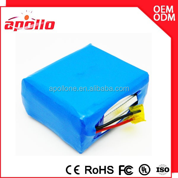 High capacity 10ah 12v rechargeable motorcycle battery lithium ion battery pack