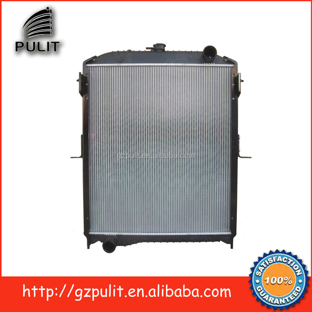 Aluminum auto radiator and truck radiator for Hino Ranger J08C Manual Transmission