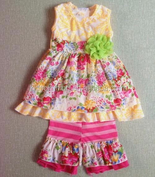 wholesale summer teen girl clothing set baby girl summer set bangladesh wholesale clothing