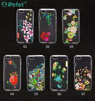 Best Selling Products TPU painted flower diamond 5 inch mobile phone case