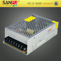 SANPU CE ROHS approved single portable 220v battery power supply 100w 24v manufacturer, supplier & exporter