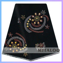 Mitaloo African Velvet Lace Fabric for Lady Dress MVL1502