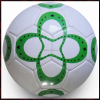 Outdoor Plain White PVC Soccer Balls Size 5