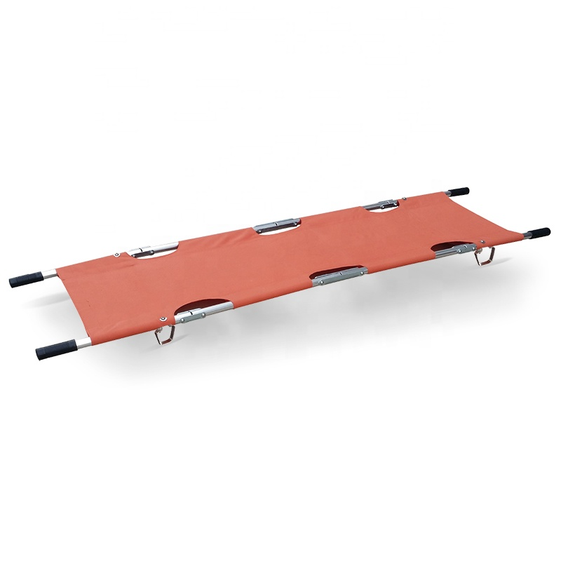 SKB040(<strong>A001</strong>) Hospital Aluminum Alloy Folding Ambulance Stretcher