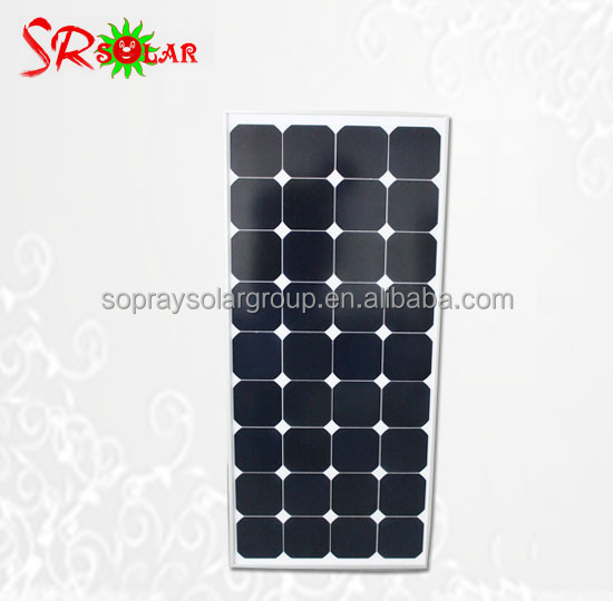 Chinese Manufacturer Wholesale High Efficiency Cheap Solar Panel for Home 100w 90w 80w 70w