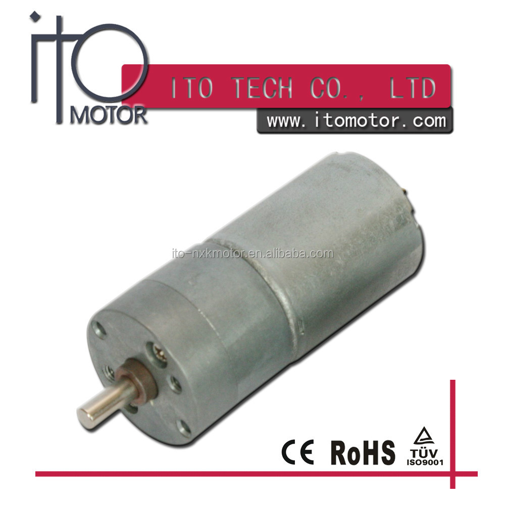 low noise 25mm gearbox high torque cw/ccw /reverse 25mm dc gear motor 6v /25mm dc gear motor 6v for electronic tool
