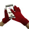 Cheap Keep Warm Acrylic Touch Screen Texing Gloves