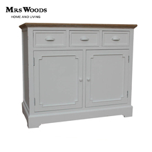 Living Room Furniture French Style Antique White Cabinet