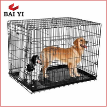 New Extra Large 2 Door Pet Wire Cage With ABS Pan