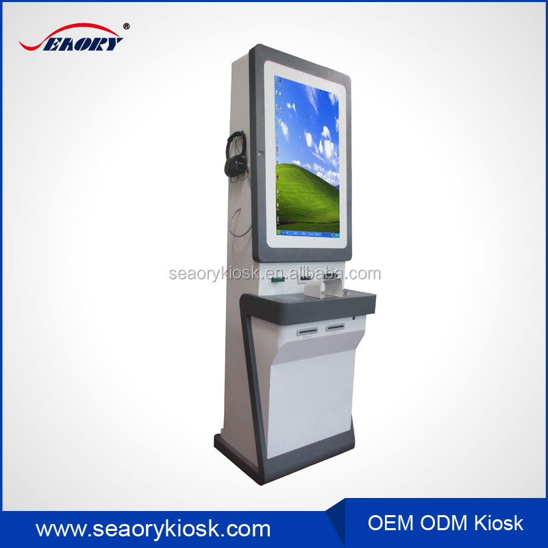 self-checkout lighting bill payment terminal information touch screen kiosk