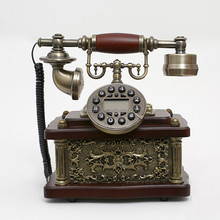 Retro Design Caller ID Phone Old Fashioned Phones Replica Antique Telephone