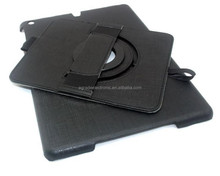 Belt Leather Stand Cover Case W/ Hand Strap and Card Holder 360 Degree Rotary Leather Case For iPad 5/Air